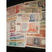 Lote De 18 Billetes Argentino Diferentes