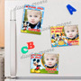 15 Souvenirs Iman + Cartel Bienvenida Con Foto Cumple Mickey