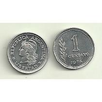 Moneda Argentina De 1 Centavo Año 1974 Sin Circular Oferta