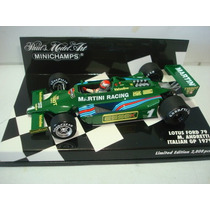 Lotus Ford 79 Andretti Gp Italia 1979 Minichamps 1/43