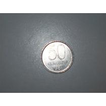 Moneda Argentina 50 Centavos Año 1983