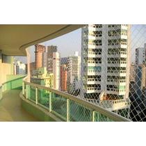 Instalacion Redes Balcon. Instalacion Redes Nylon. Ventanas