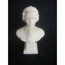 Antiguo Busto De Mozart Hecho En Piedra Sal