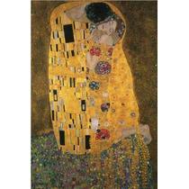Gustav Klimt - El Beso - Poster De 60 X 90 Cm