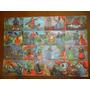 Figuritas Antiguas Cuentos Clasicos- Plancha De 16 Unidades