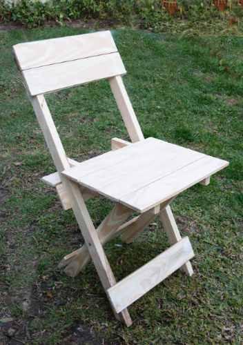 Silla madera plegable oferta de fabrica madera a ars for Oferta sillas madera