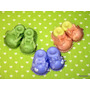 10 Souvenir Nacimiento Escarpines Porcelana Fría Narartesana