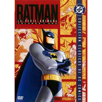 Dvd Batman La Serie Animada Volumen Uno Nuevo Cerrado Sm