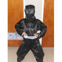Disfraz De Hombre Araña Negro Spiderman