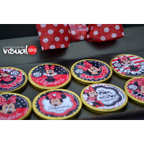 Golosinas Personalizadas Minnie Y Mickey Candy Bar