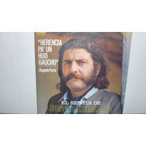 Lp Vinilo Jose Larralde - Herencia Pa