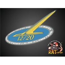 Calco Ford Falcon / Garantia 12-20