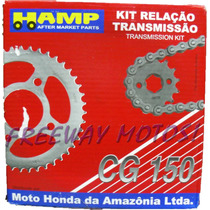 Kit Transmicion Completa Honda Cg 150 Original Freeway Motos