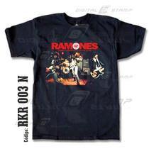 Remeras Ramones 03 Rock Estampado Digital Nuevos Diseños