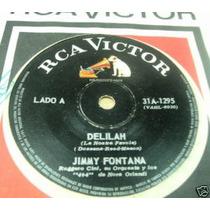 Jimmy Fontana Delilah / Cielo Rojo Simple Argentino