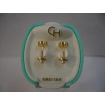 Aro Abridor Oro18k. Facetado C/ Perla(119)ch-- Presentes Js-