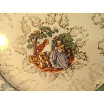 El Arcon Antiguo Plato De Porcelana Vogt Ind Argentina 14008