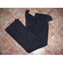 Futura Mama ! Pantalón De Corderoy Negro T.38