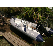 Semi 5,4 Mts Matrizado Con Mercury 60 Hp 4t Full Ecologico