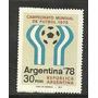 Estampilla Mundial Futbol Mate Neutro 1081a U$ 125 Oferta
