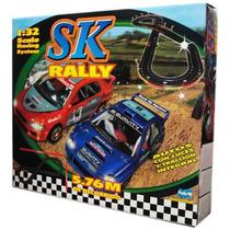 Pista De Tramos Sk Rally Autos 4x4 Luces Compat Scalextric