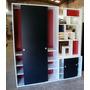 Divisor Ambientes Alto Placard Baulera Biblioteca Diseño
