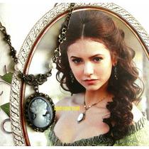 En Stock Vampire Diaries Katherine Collar Colgante Camafeo