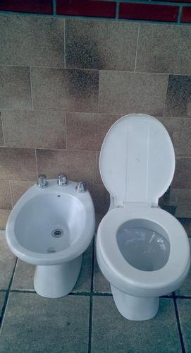 Inodoro losa sanitario ba o corto largo apoyo simil ferrum for Precio de inodoro ferrum