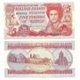 Billete De Malvinas 5 Libras Del Año 2005 Sin Circular