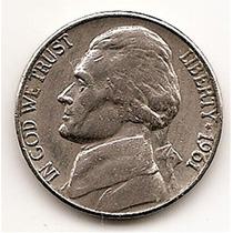 Moneda Estados Unidos De 5 Centavos.five Cents Año1961 D