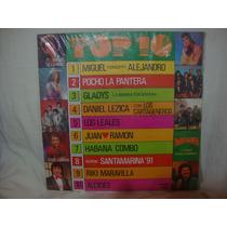 Vinilo Top 10 Los Leales Habana Combo Santamarina Alcides