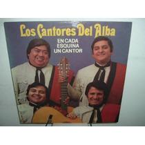Cantores Del Alba En Cada Esquina Un Cantor Vinilo Argentino