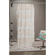 Cortinas de gasa de algodon con volados - Lo ultimo en cortinas ...