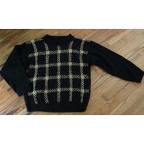 Sweater De Lana Tejido A Mano