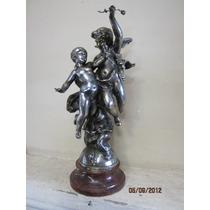 Estatua Angel Con Luz