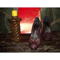 Color Uva!!! Mi Preferido!!! Zapatos Saverio Di Ricci (nº40)