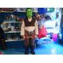 Disfraz De Shrek Shreck Careta O Vincha Niños De 5 A 7 Años