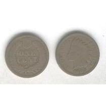 Moneda Estados Unidos 1 Centavo Año 1903, Cabeza De Indio!!!
