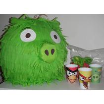 Piñatas P/ Cumpleaños Infantiles Angry Birds!!!