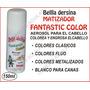 Fantastic Color Aerosol Para Pintar El Cabello Pelo