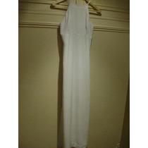 Vestido Vitamina - Formal - Largo - Blanco - Talle 3 - M