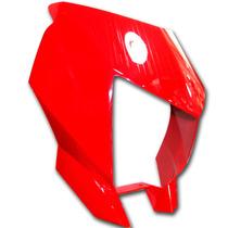 Cubre Optica Rojo Yamaha Xtz 250 Lander Original Fas Motos