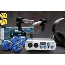 Interface De Audio 8 Canales Presonus Fs Mobile Studio