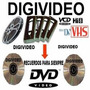 Digitalizacion De Videos - Conversion - Vhs - Super 8 - Dvd