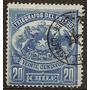 Chile Antiguo T.telegráfico Yvert N°3 Usados Año 1883