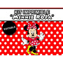 Kit Imprimible Minnie Roja Golosinas Personalizadas Stickers