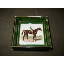 Antiguo Azulejo Mayolica Villeroy & Boch Caballo Favonius