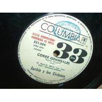 Jackie Y Los Ciclones Corre Gonshales Simple Argentino Promo