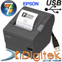 Impresora Epson Tm T88v Comandera Tickeadora Usb Windows Mac