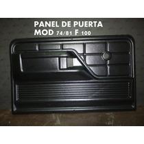 Tapizado De Puerta F100 Mod 74/81